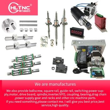 customized kit of CNC with mgn 12 sbr20 hgr15 hgh20  linear guide rail rod  ballscrew T12 sfu1605 sfu2005