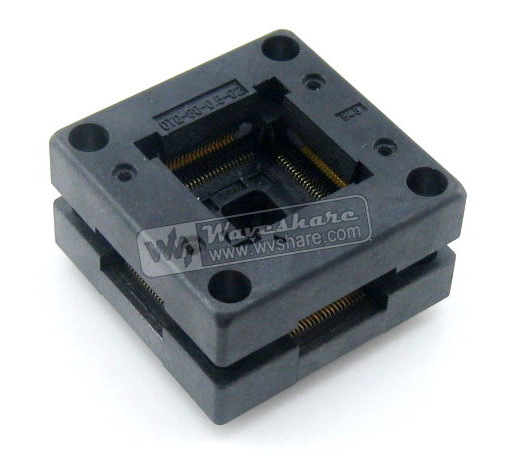 Free Shipping! Enplas QFP80 OTQ-80-0.5-02 TQFP80 LQFP80 PQFP80 QFP IC Test Burn-In Socket 0.5mm Pitch IC Body Size 12*12 mm qfp176 tqfp176 lqfp176 burn in socket pitch 0 5mm ic body size 24x24mm otq 176 0 5 06 test socket adapter