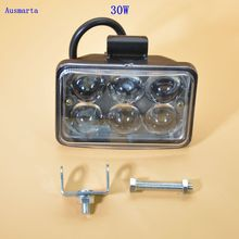 Weketory 1 шт. 30 Вт 3 zoll светодиодный arbeitslicht Flut Фарен лампе для Autocar грузовик Прицепы внедорожник Offroads Лодка 12 в-80 В 4WD