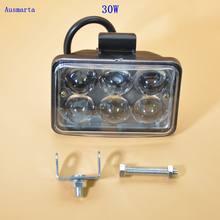 Weketory 1 stücke 30 Watt 3 zoll LED Arbeitslicht Flut Fahren lampe für AutoCar Lkw Anhänger SUV Offroads Boot 12 v-80 v 4WD