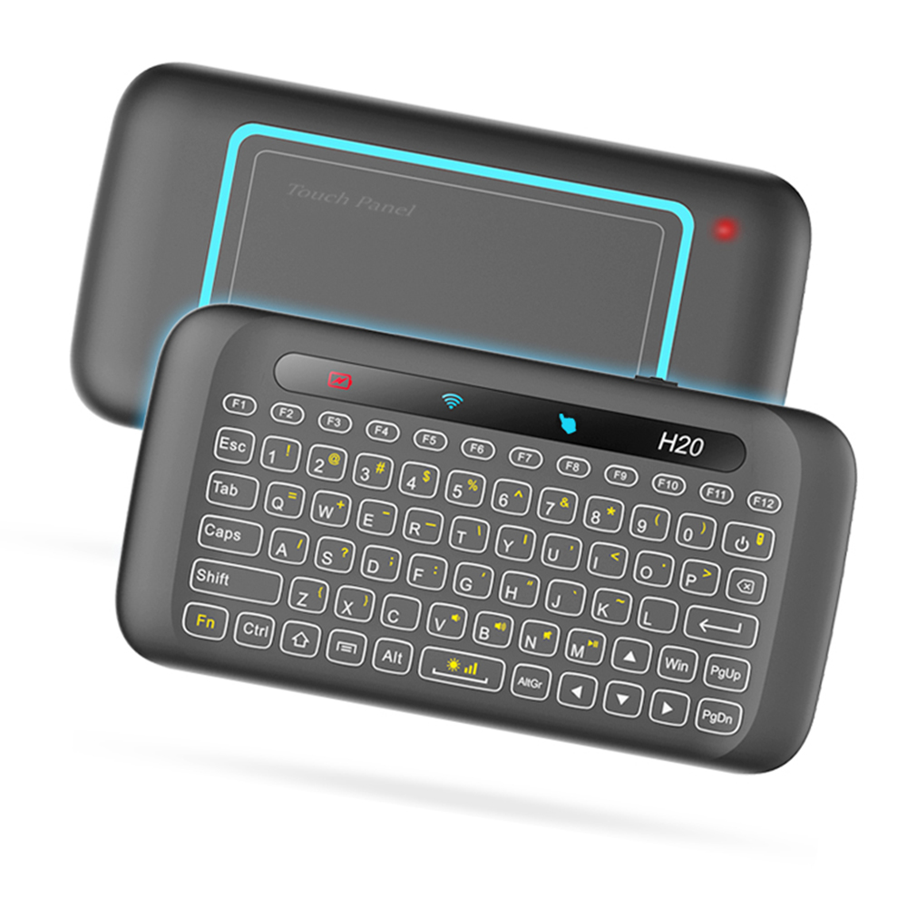 Aliexpress.com : Buy H20 2.4GHz Mini Wireless Keyboard Touchpad With Backlight Function For
