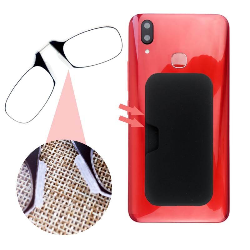 Reading-Glasses Wallet Mini Nose Women Clip For With Box Prescription Presbyopic