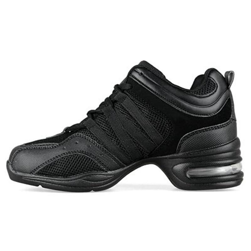 Maultby Women Black Dance Shoes Women Jazz Hip Hop Shoes Sneakers for Woman Platform Dancing Ladies Shoes #DS4002B
