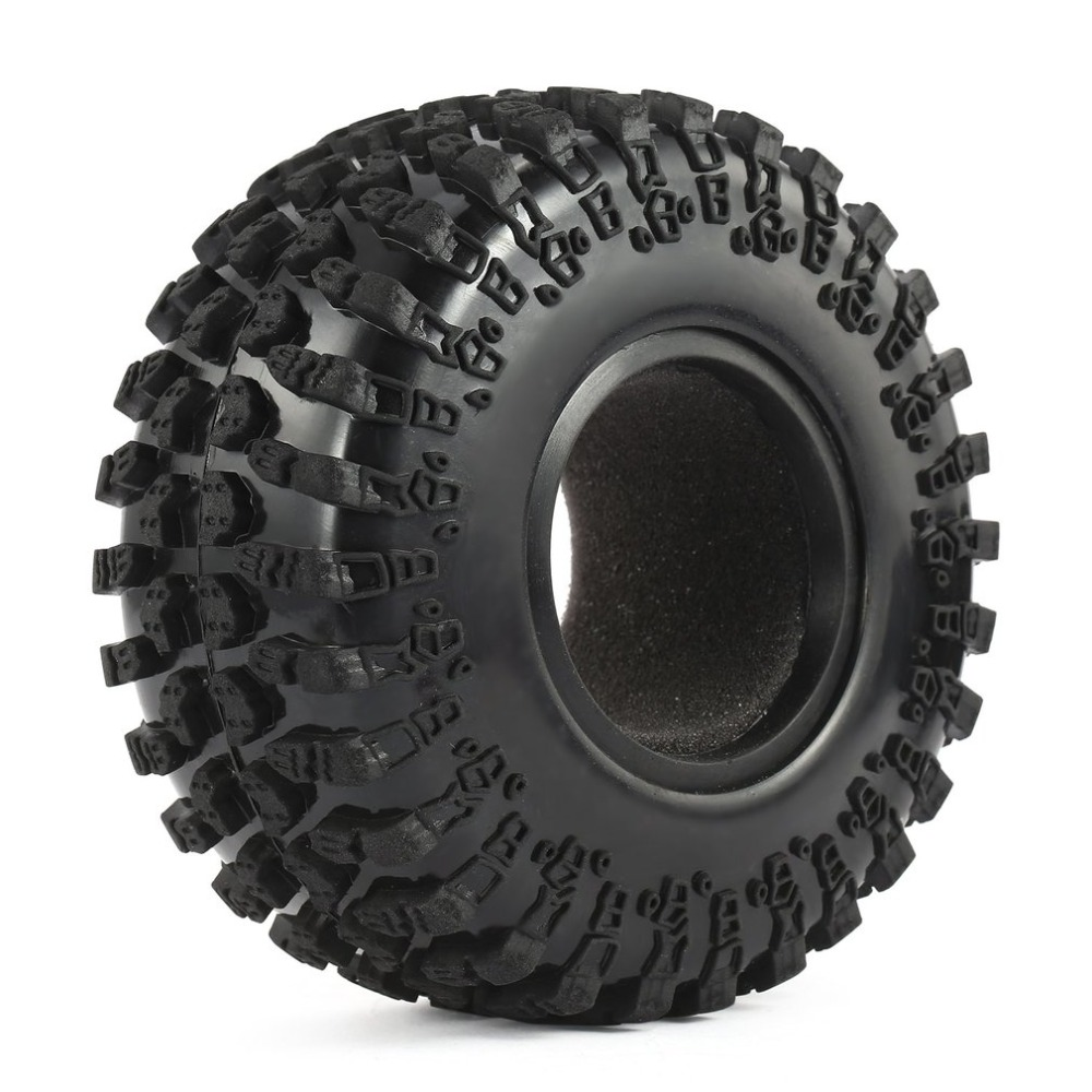 4 piezas Austar AX-3021 2,2 pulgadas neumático de goma fijó para 1/10 Axial SCX10 RR10 Wraith 90056 90045 RC Rock Crawler RC coche Juguetes