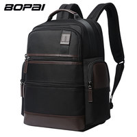 BOPAI Multifunction Large Capacity Laptop Backpack Anti Theft USB Charging Backpack Men Shoulders Bag Travel Backpack