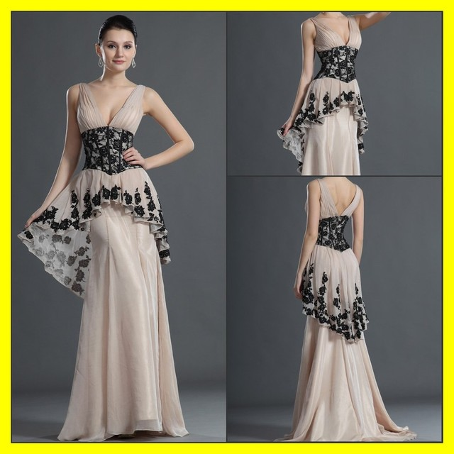 Long Black Evening Dresses Uk Cream Gowns Cheap Australia Online A-Line  Floor-Length Built-In Bra Appliques Court Tr 2015 Outlet ffaf9b1b886b