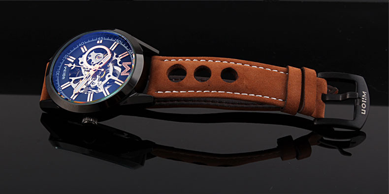 Fashion Brand Дизайнер Ерлер Skeleton Automatic Watches - Ерлердің сағаттары - фото 2