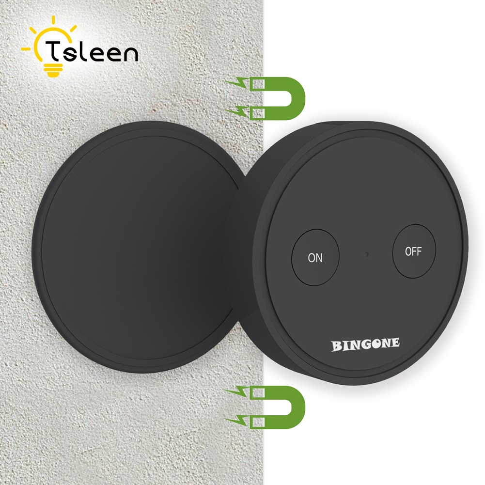Remote Control Wireless Switch And Receiver Kit No Wiring Waterproof Ceiling Wall Light With Needed Tsleen 220v Smart Home For Fan Switches 110v Lights