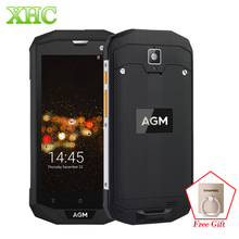 AGM A8 IP68 Waterproof Smartphones 5 0 inch Android 7 0 RAM 4GB ROM 64GB 1280