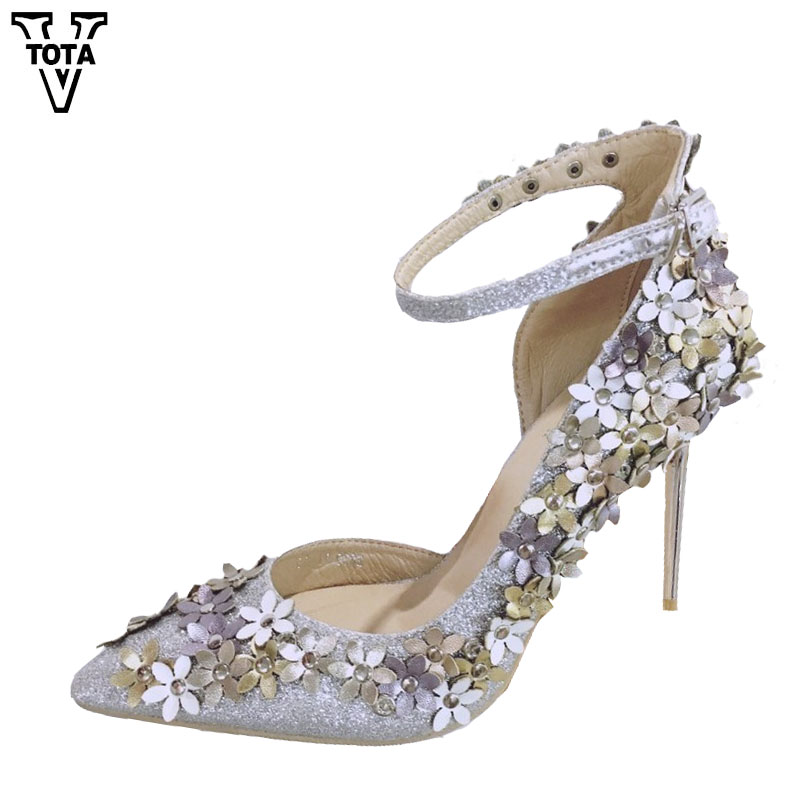 VTOTA High Heels Brand Women Pumps Fashion Shoes Woman Pointed Toe Women's Shoes High Heel Ladies Thin Heel Shoes FC14 купить