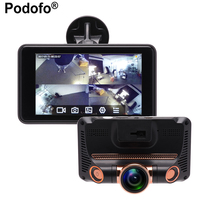 2017 New 4 0 Car DVR Camera Full HD 1080P Video Recorder Car Camera Fisheye Lens