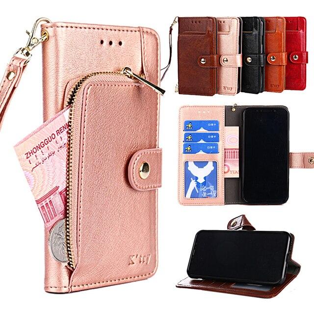 PU Leather Cases For LG V30 V20 V10 Wallet Cover For LG G6 G5 G4 beat mini pro G4C G4S Coque Phone Case For LG G7 ThinQ Fundas