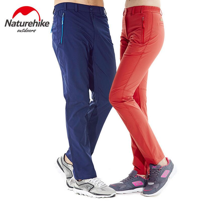 Naturehike Quick Drying Outdoor Pants Men Women Camping Sport Hiking Pants Travel equipment Spring and Autumn Hunting Trousers
