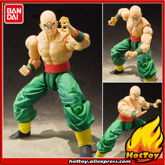 100% Original BANDAI Tamashii Nations S.H.Figuarts (SHF) Exclusive Action Figure - Tenshinhan from Dragon Ball Z cmt original bandai tamashii nations s h figuarts shf dragon ball db kid son gokou action figure anime figure pvc toys figure