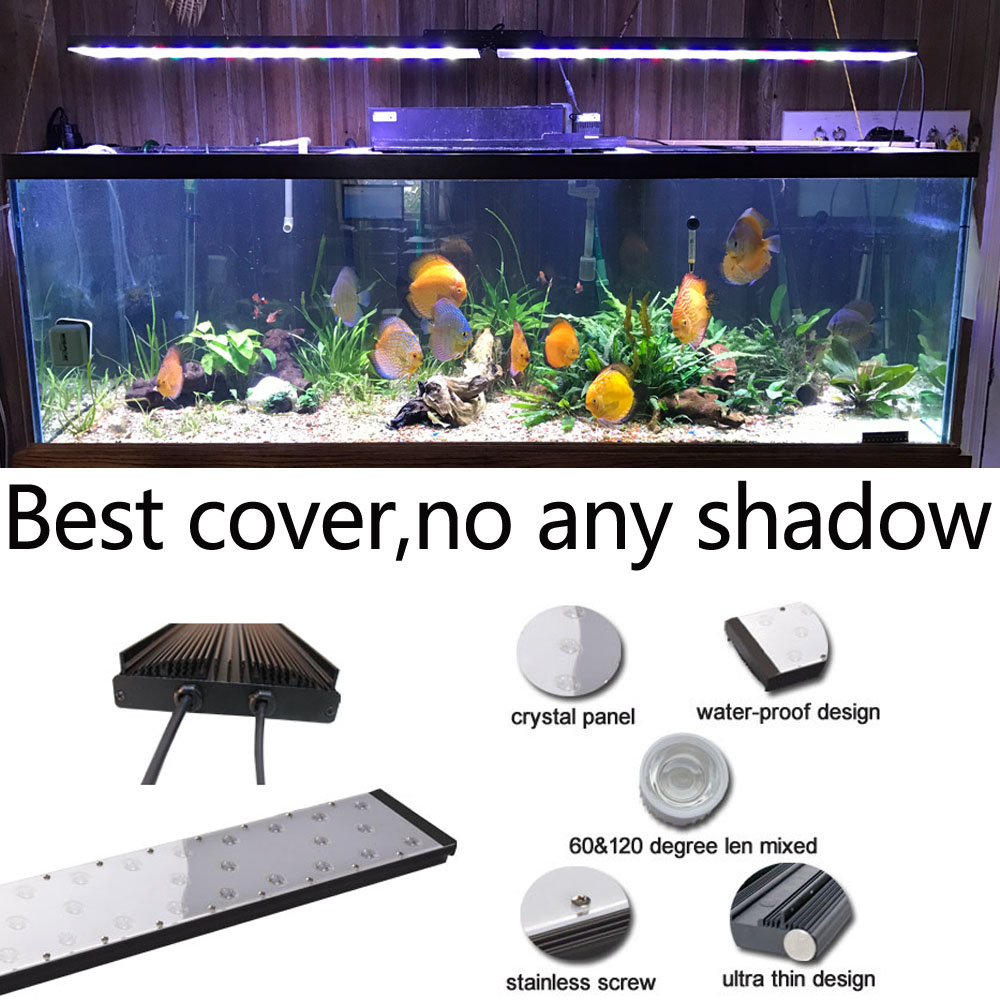 dsuny led aquarium lighting best cover for freshwater fish plant
