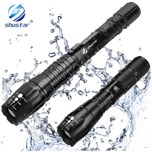 Brightest and Best LED Tactical Flashlights Set With Water R