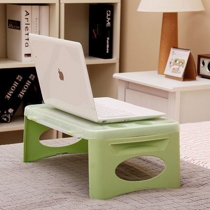 2016 Real Rushed Bed And Computer Desk Mini Coffee Table Storage Plastic Fold Tables With A
