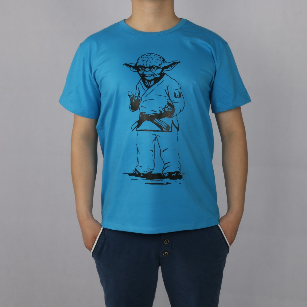STAR WARS yoda JUDO JIU JITSU T-shirt Κορυφαία λουράκι - Ανδρικός ρουχισμός - Φωτογραφία 1