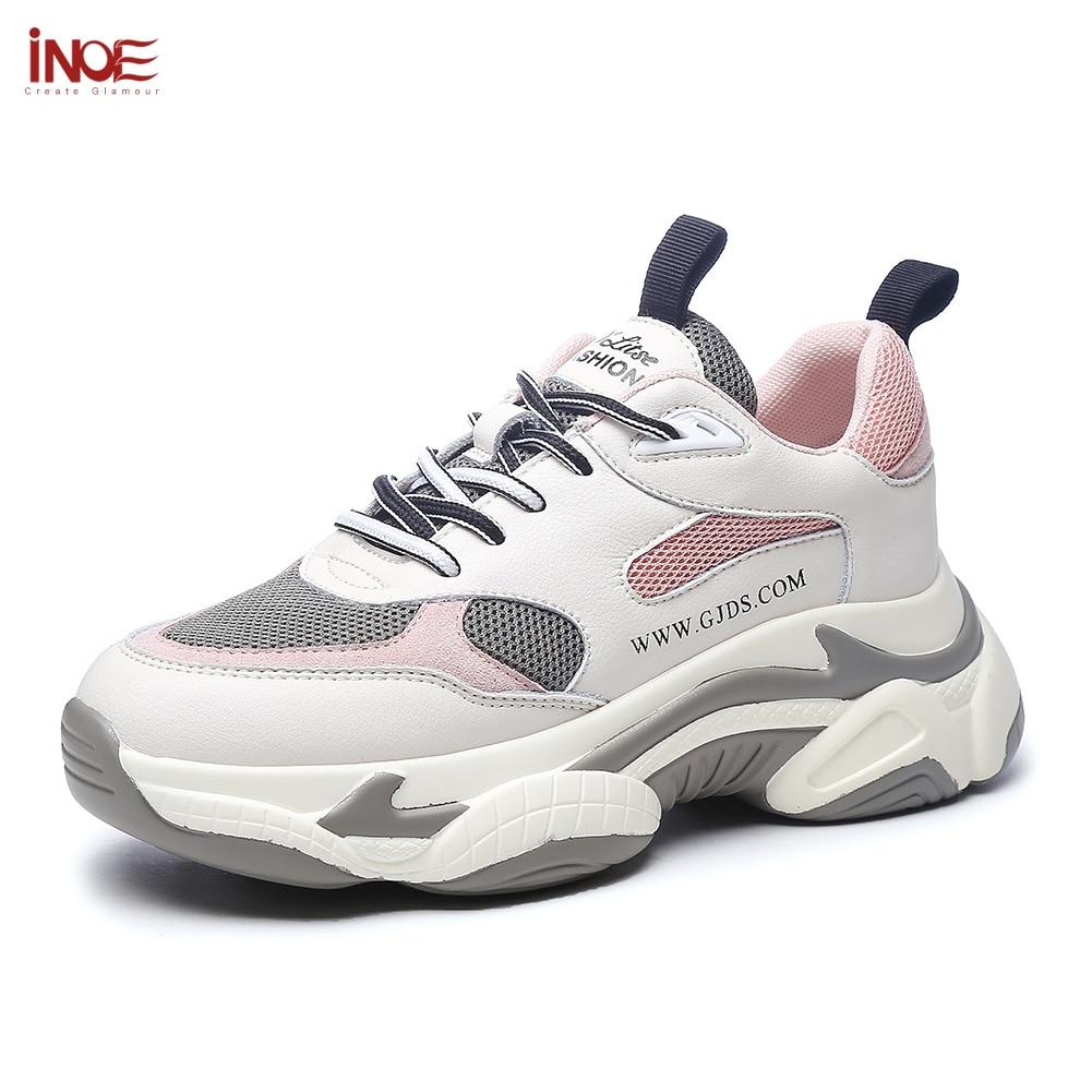 Y Moda Black Cuero Niñas Microfibra Zapatillas Para Gamuza 2019 La Otoño Las Zapatos Inoe pink Nuevo Mujeres Deporte Plataforma Casuales Estilo Primavera De wxqXxOgA
