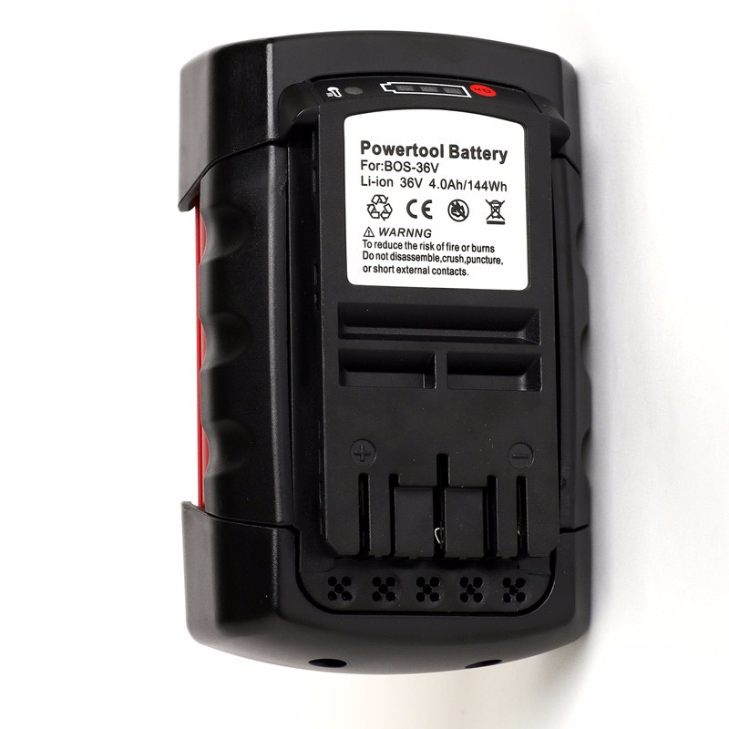 New Replacement 36V 4.0A Lithium Cordless Power Tools Battery for Bosch 2607336173 BAT810 BAT836 BAT840 D-70771 2600mah new spare rechargeable lithium ion power tool battery replacement for bosch 36v bat810 bat836 bat840 d 70771 2607336108