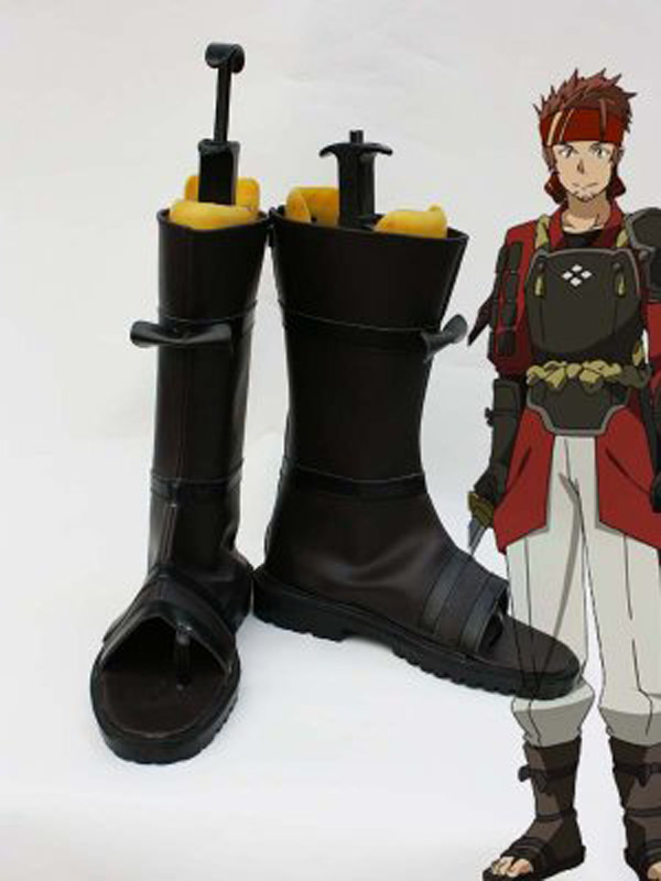 Sword Art Online Klein Cosplay Shoes Boots For Adult Men's Halloween Party Cosplay Boots Custom Made