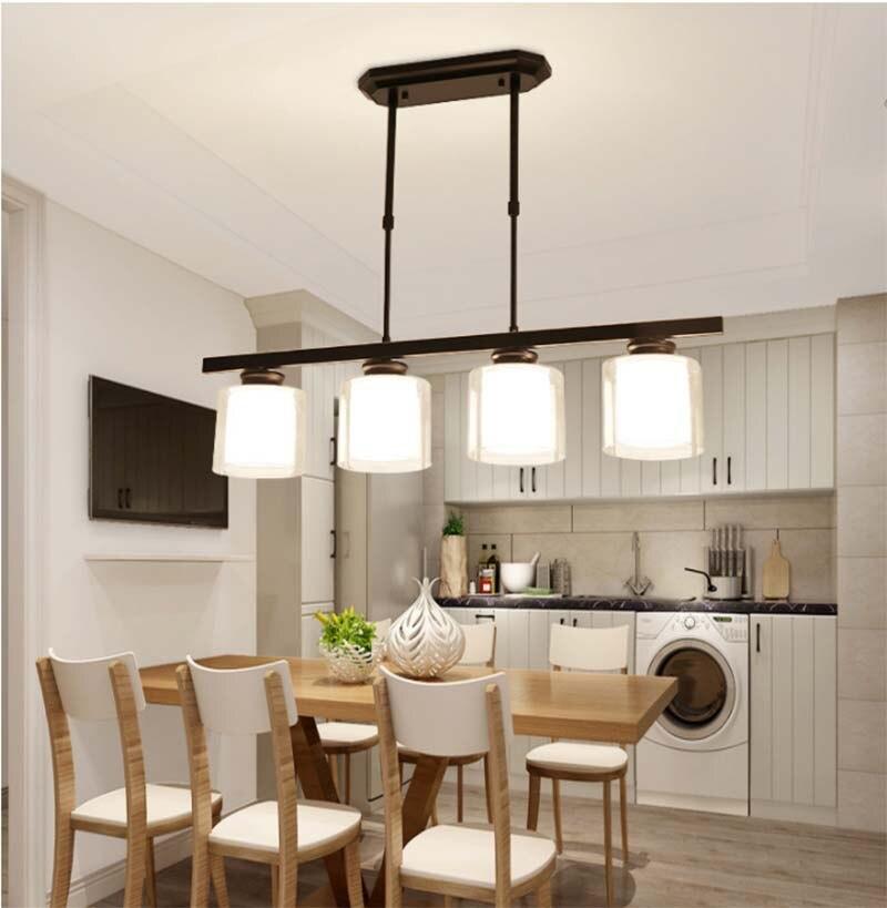 BOKT Simplicity 4 Head Nordic Pendant Light Postmodern Creative  Living Room Restaurant Bedroom LED Lamp