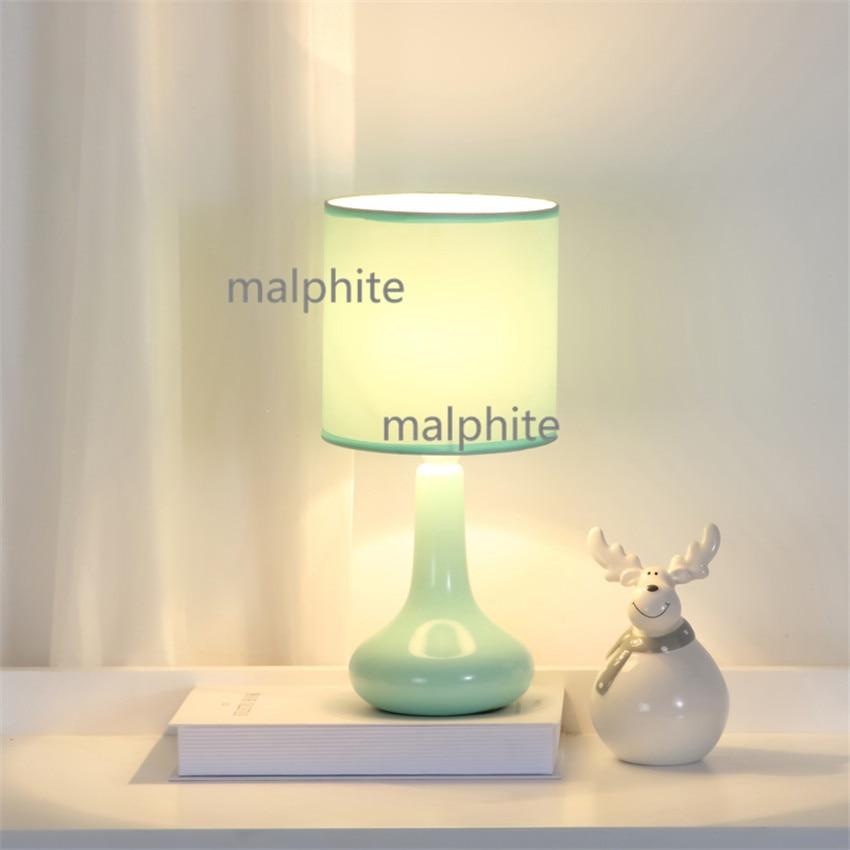 Modern LED Ceramic Table Lamp Lighting Bedroom Desk Lamp Bedside Warm Home Decor Table Lights Study Simple Pink Light FixtureModern LED Ceramic Table Lamp Lighting Bedroom Desk Lamp Bedside Warm Home Decor Table Lights Study Simple Pink Light Fixture