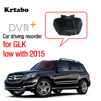 Car Wifi Mini DVR Driving Video Recorder Dash Cam For Mercedes Benz GLK low with 2015 Novatek 96658 HD CCD image