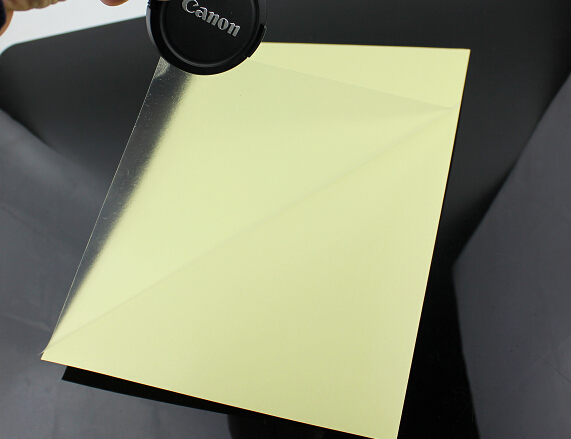 A4 CLEAR TRANSPARENT GLOSSY SELF ADHESIVE VINYL FILM PRINTABLE STICKY LABEL FOR LASER PRINTER 2/10/30/50pcs You Choose Quantity