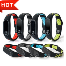 Silicone Sport Strap for Xiaomi Mi Band 2 Strap Smart watch band for Xiaomi Miband 2 Bracelet Replacement wristband Accessories 1 color strap for xiaomi mi band 2 smart wristband watch strap miband2 miband 2 strap for xiaomi mi wch18101401 181017 bobo