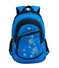 Hot Children School Bags for Boys Girls Waterproof printing backpack kids book bag SchoolBag shoulder