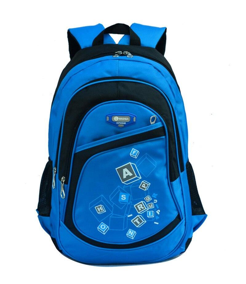 Hot Children School Bags for Boys Girls Waterproof printing font b backpack b font font b
