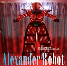 LED robot Costume LED Clothing Light suits LED Robot suits
