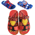 2016 del Verano del bebé niños niñas Sofia Capitán América Iron man Spiderman zapatos, niños chicos 3D zapatillas para niños de dibujos animados sandalias