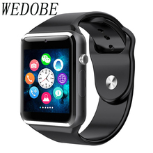 WEDOBE 2017 Greatest Craft And Materials A1 Sensible Watch Clock  Assist SIM TF Card Connectivity Android Telephone Smartwatch A1