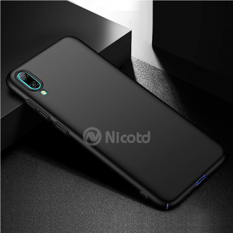 for Huawei Y6 pro 2019 Luxury Plastic Hard Matte Back cover cases sfor Huawei Y6 pro 2019 Frosted Hard PC Matte Case bags Coque (11)