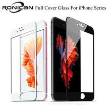 3D 9H כיסוי מלא כיסוי מזג זכוכית עבור iPhone 6 6s 7 8 בתוספת 5 5S SE מסך מגן מגן סרט על iPhone X XS Max XR