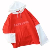 71ff32a68935b5 Kpop Fake Love T Shirts Women Korean Bangtan Boys Tshirt Casual Harajuku  Top Tee Letter Print