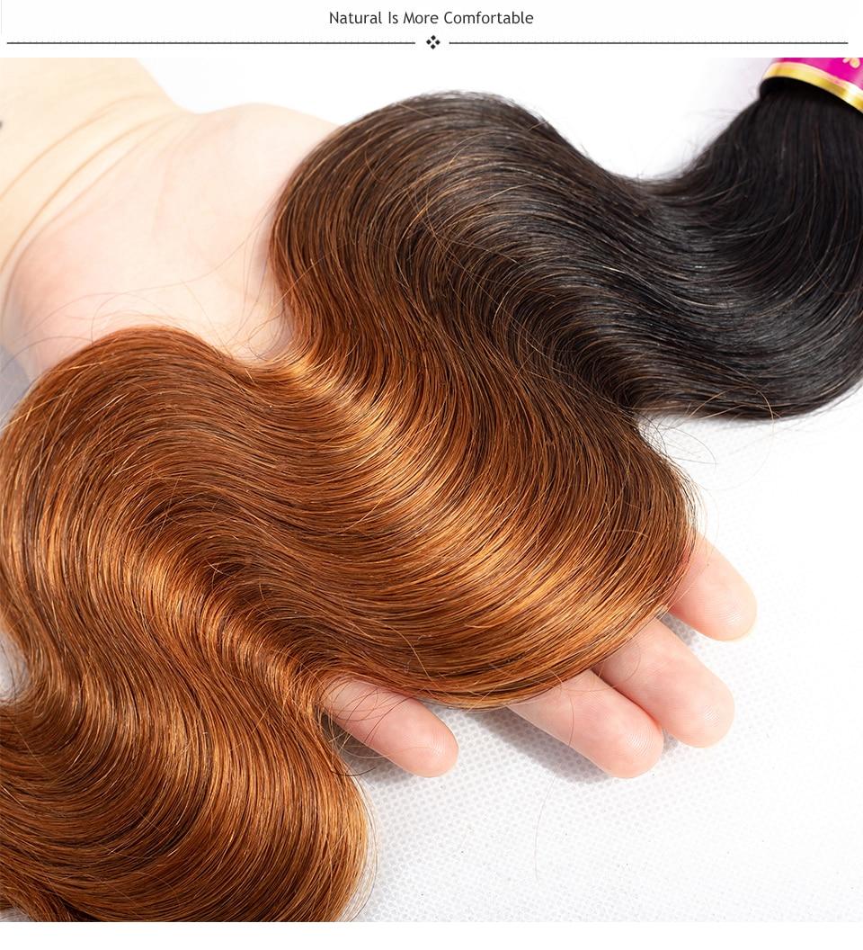 HTB1kDIXnZuYBuNkSmRyq6AA3pXaO TODAY ONLY Body Wave Bundles With Closure Brazilian Hair Weave Bundles With Closure Remy Ombre Bundles With Closure 3 Bundles