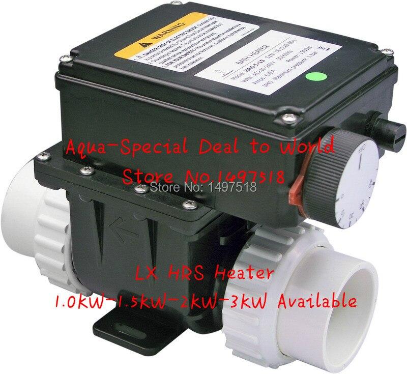 Chine LX H30-RS1 3kw chauffe-eau électrique avec régulateur de température pour baignoire et bain à remous spa piscine 3000 W chauffe-eau