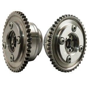 Image 5 - 2PCS גל זיזים (פליטה + צריכת) שמאי מפעיל מצלמת Gears עבור מרצדס C250 SLK250 1.8L 2710503347 2710502947 2710501400