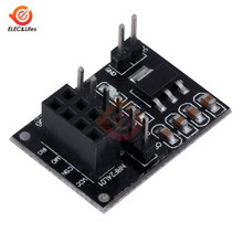 1PCS Socket Adapter Plate Board For 8Pin NRF24L01 Wireless Module Transceiver Module 51 AMS1117(China)