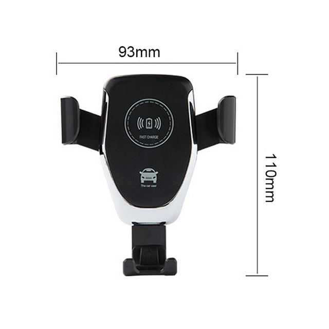 Power Fast Car Mount Qi Wireless Car Charger
