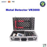 Free Shiping 30M Long Range Professional Gold Diamond Metal Detector VR3000 Good Partner For Treasure Hunter