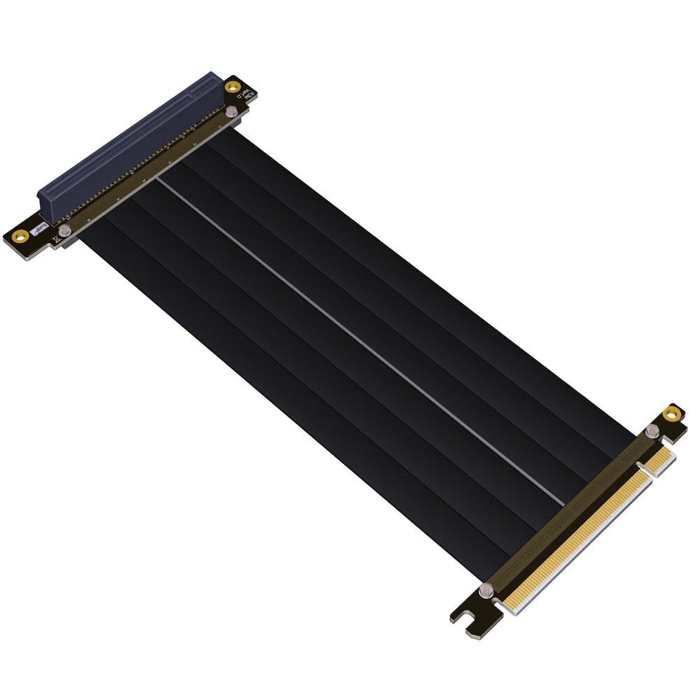 PCI-E 16x To 16x Riser Extender PCIe Mining Cable Gen3.0 For PHANTEKS ENTHOO Evolv Shift PH-ES217E/XE PK-217E/XE ITX MotherboardPCI-E 16x To 16x Riser Extender PCIe Mining Cable Gen3.0 For PHANTEKS ENTHOO Evolv Shift PH-ES217E/XE PK-217E/XE ITX Motherboard