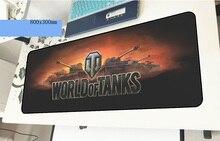 World of Tanks геймерский коврик для мыши красочный 800x300x3 мм игровой коврик для мыши великолепные аксессуары для ноутбука padmouse эргономичный коврик