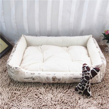 Pet Products Dog Mats Pp Cotton Leopark Printing Comfortable Sleeping Beds for Dogs Cats Garden Use Big Animal