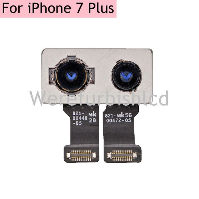 Новый задняя облицовочные камеры flex кабель robbin Для iPhone 7 plus 7 P назад модуль Камеры Две камеры Запасная Часть