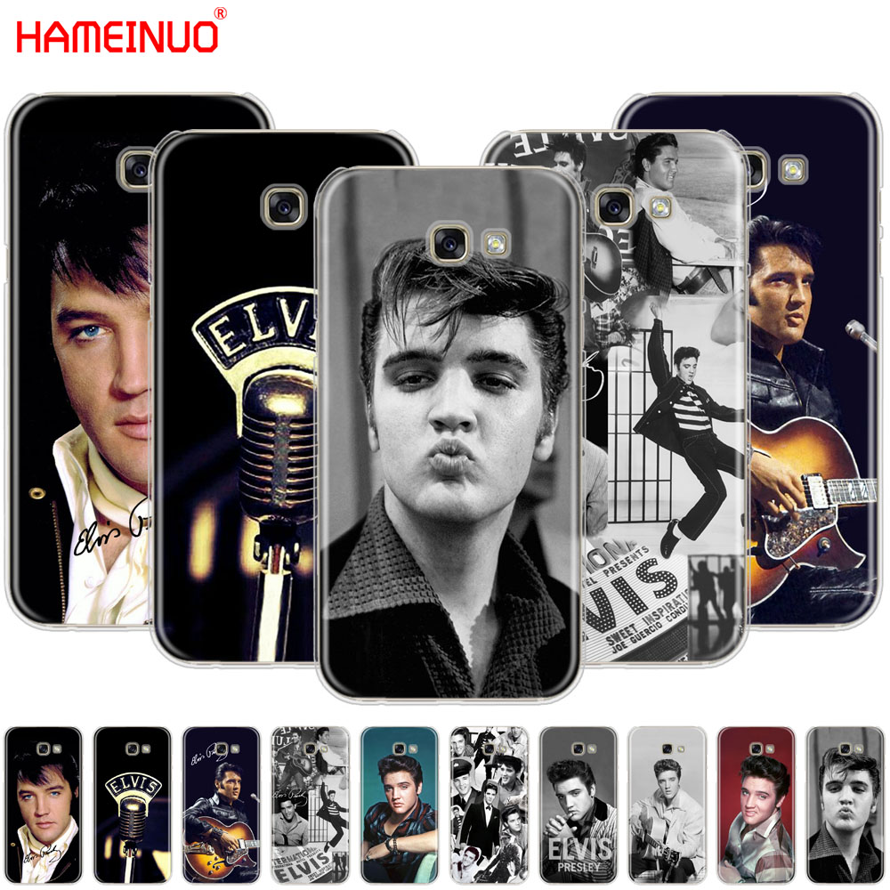 best service 6ee87 51ba0 HAMEINUO Elvis Presley Kiss Luxury cell phone case cover for Samsung Galaxy  A3 A310 A5 A510 A7 A8 A9 2016 2017 2018