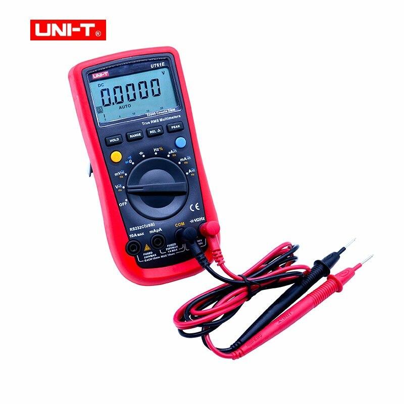 UNI-T UT61E High Reliability Digital Multimeter Modern Digital Multimeters AC DC Meter CD Backlight & Data Hold Multitester цена